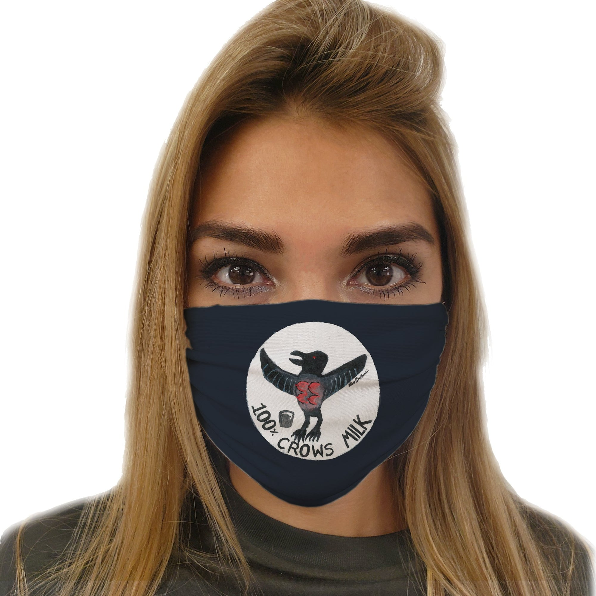 100% Crows Milk Face Mask