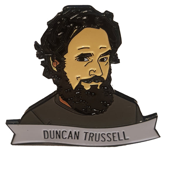 Duncan Trussell Lapel Pin