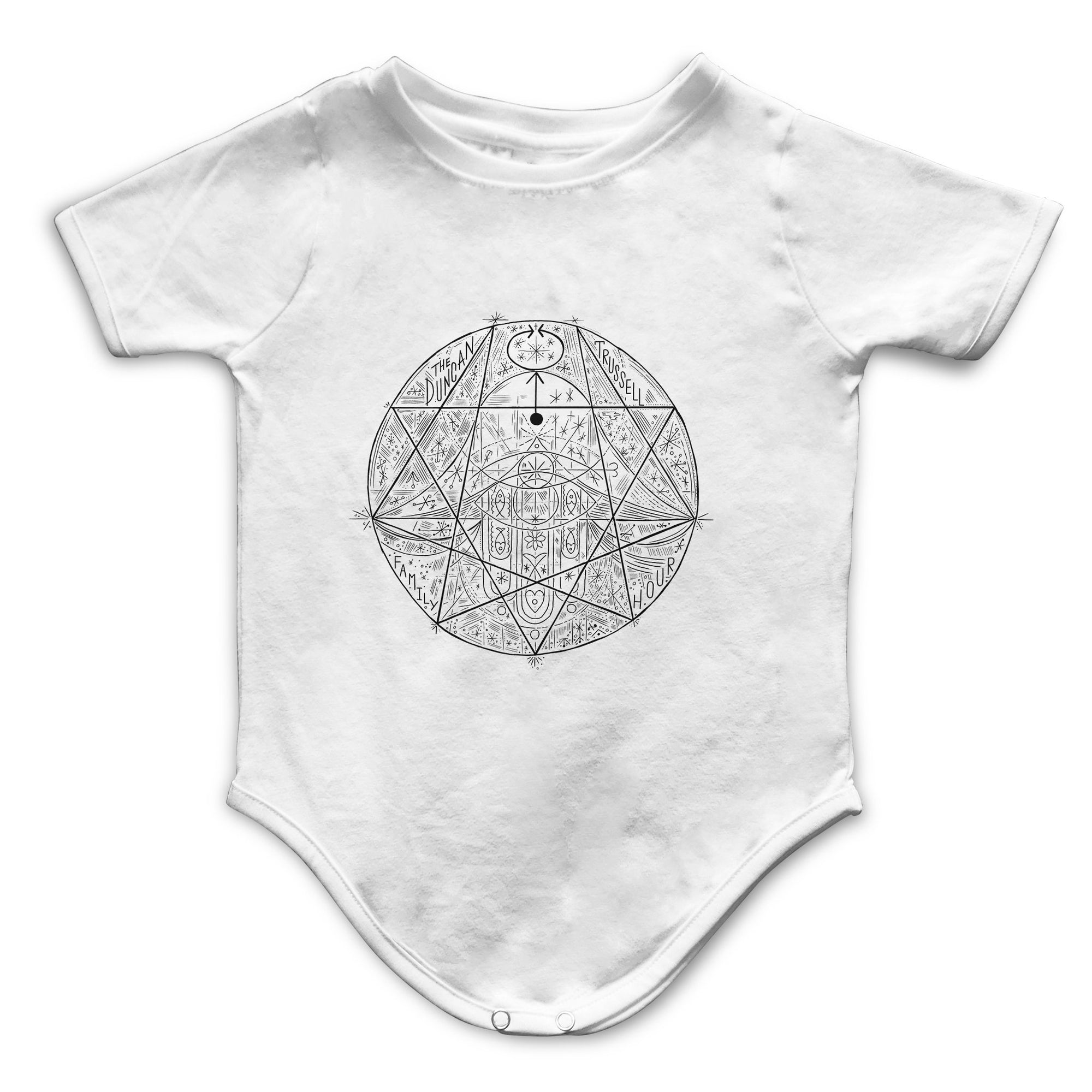 Enneagram Infant Bodysuit | Fabrifaction.com