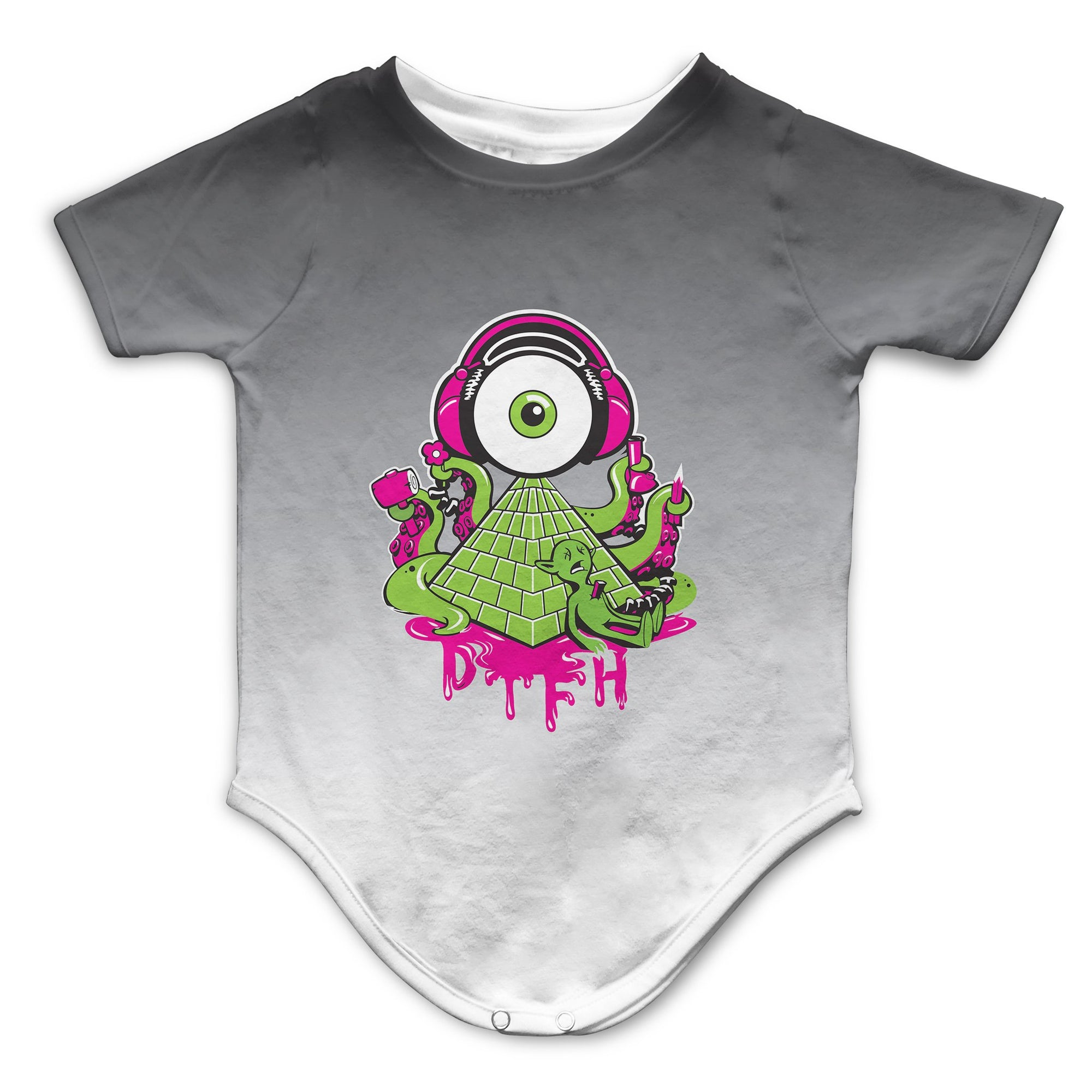 Illuminati Infant Bodysuit | Fabrifaction.com