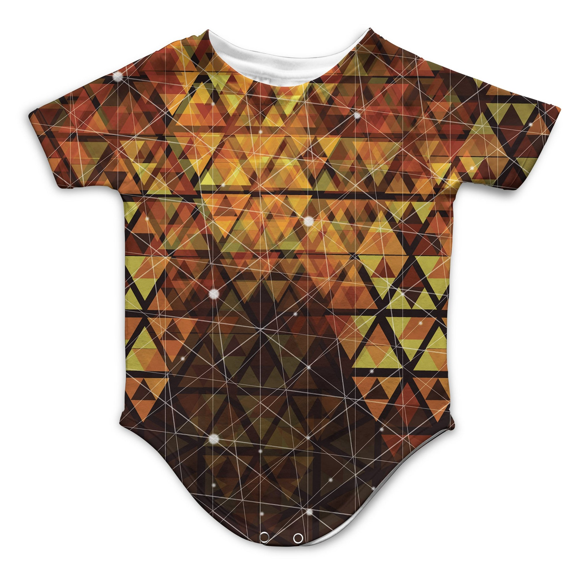 Geometric Fire Infant Bodysuit | Fabrifaction.com