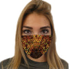 Geometric Fire Face Mask | Fabrifaction.com