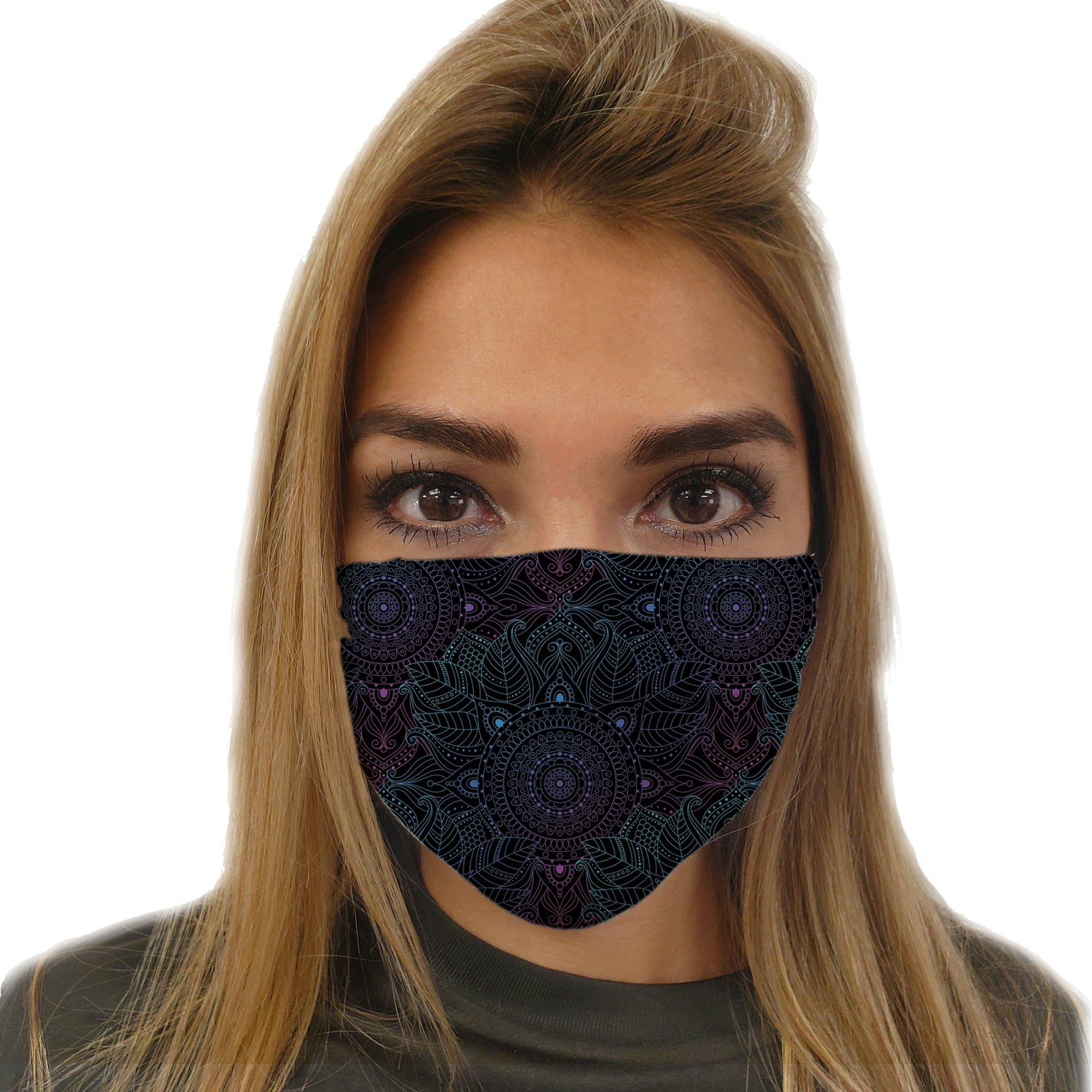 Lunare Mandala Face Mask | Fabrifaction.com