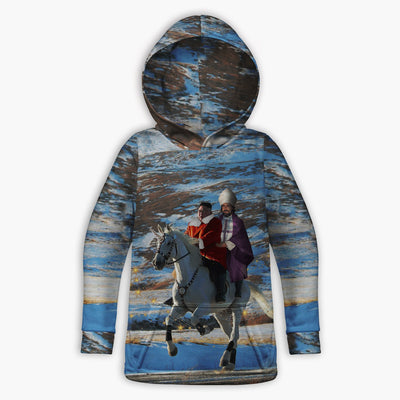 Kim and Duncan Toddler Hoodie | Fabrifaction.com