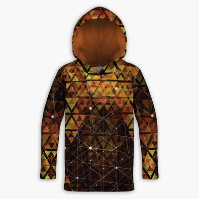 Geometric Fire Toddler Lightweight Hoodie | Fabrifaction.com