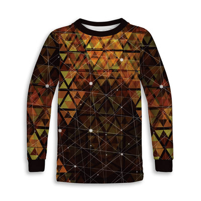 Geometric Fire Toddler Sweatshirt | Fabrifaction.com