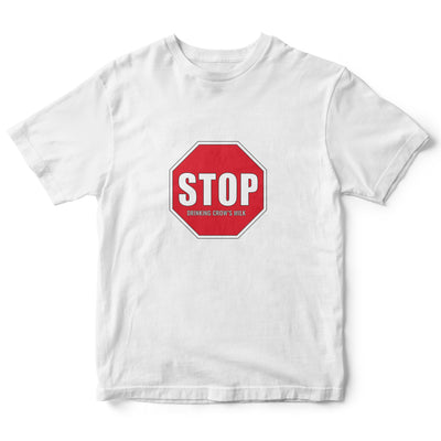 Stop Drinking  Crows Milk Childrens Tee | Fabrifaction.com