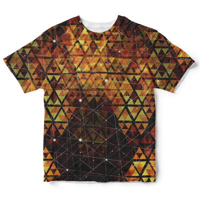 Geometric Fire Childrens Tee | Fabrifaction.com
