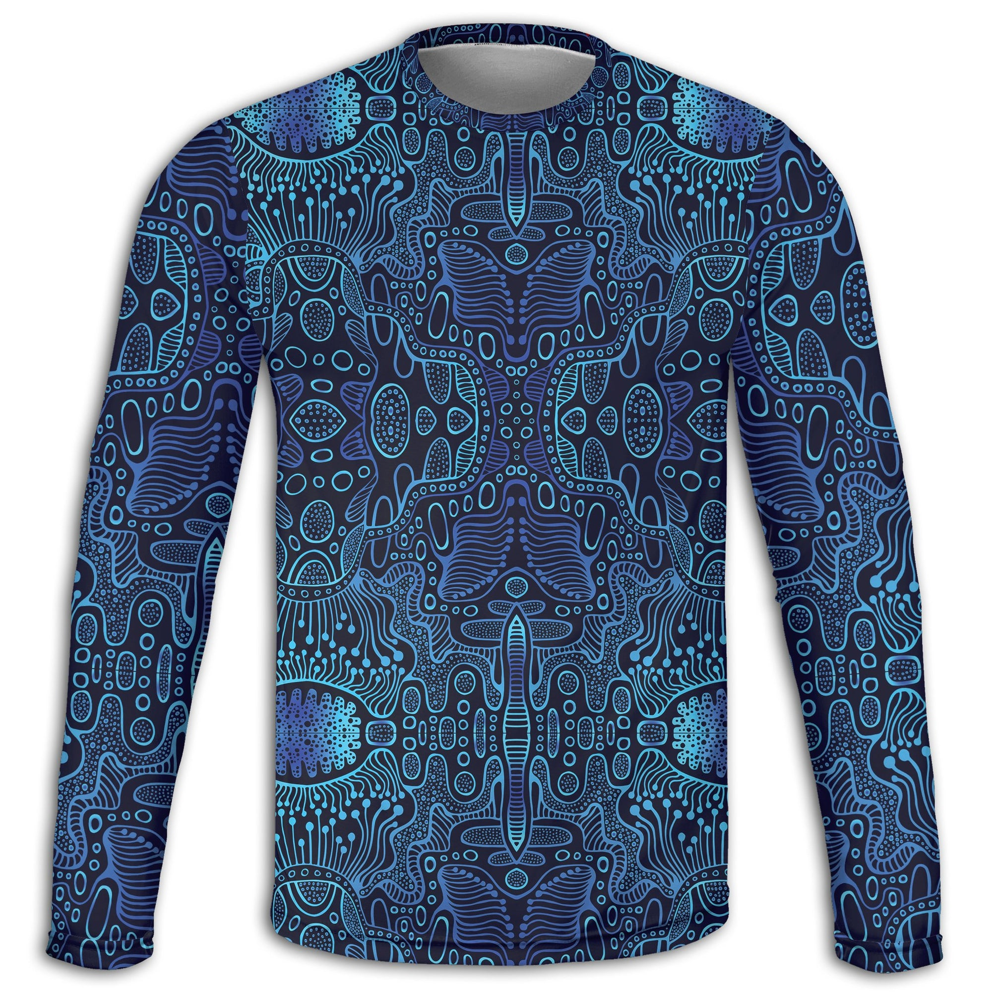Blue Yonder Long Sleeve Tee | Fabrifaction.com