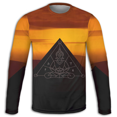 Zen  Long Sleeve Tee | Fabrifaction.com