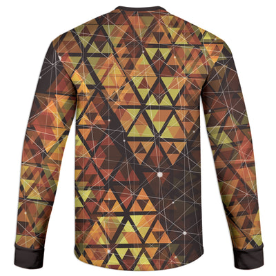 Geometric Fire Sweatshirt | Fabrifaction.com