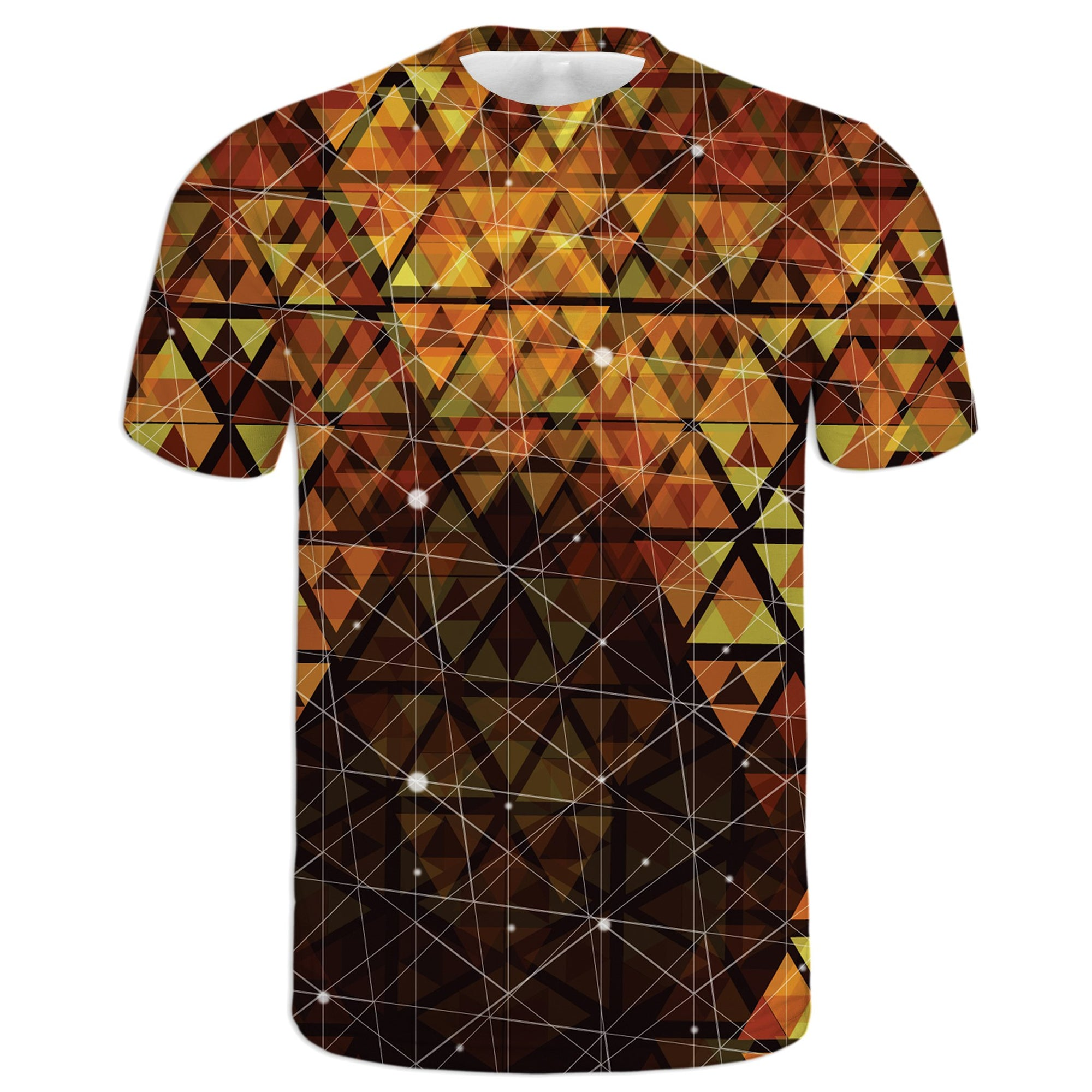 Geometric Fire Tee | Fabrifaction.com