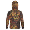 Geometric Fire Womens Hoodie | Fabrifaction.com
