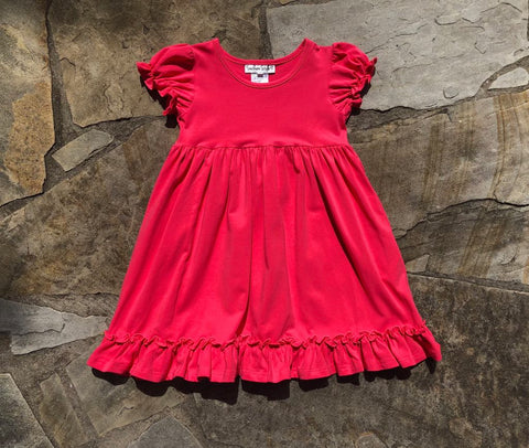 Annalise Dress Raspberry