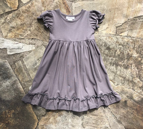 Annalise Dress Charcoal