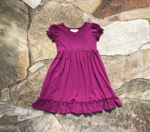 Annalise Dress Wine
