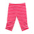 Passion Fruit Stripe Sprinkle Button Capris