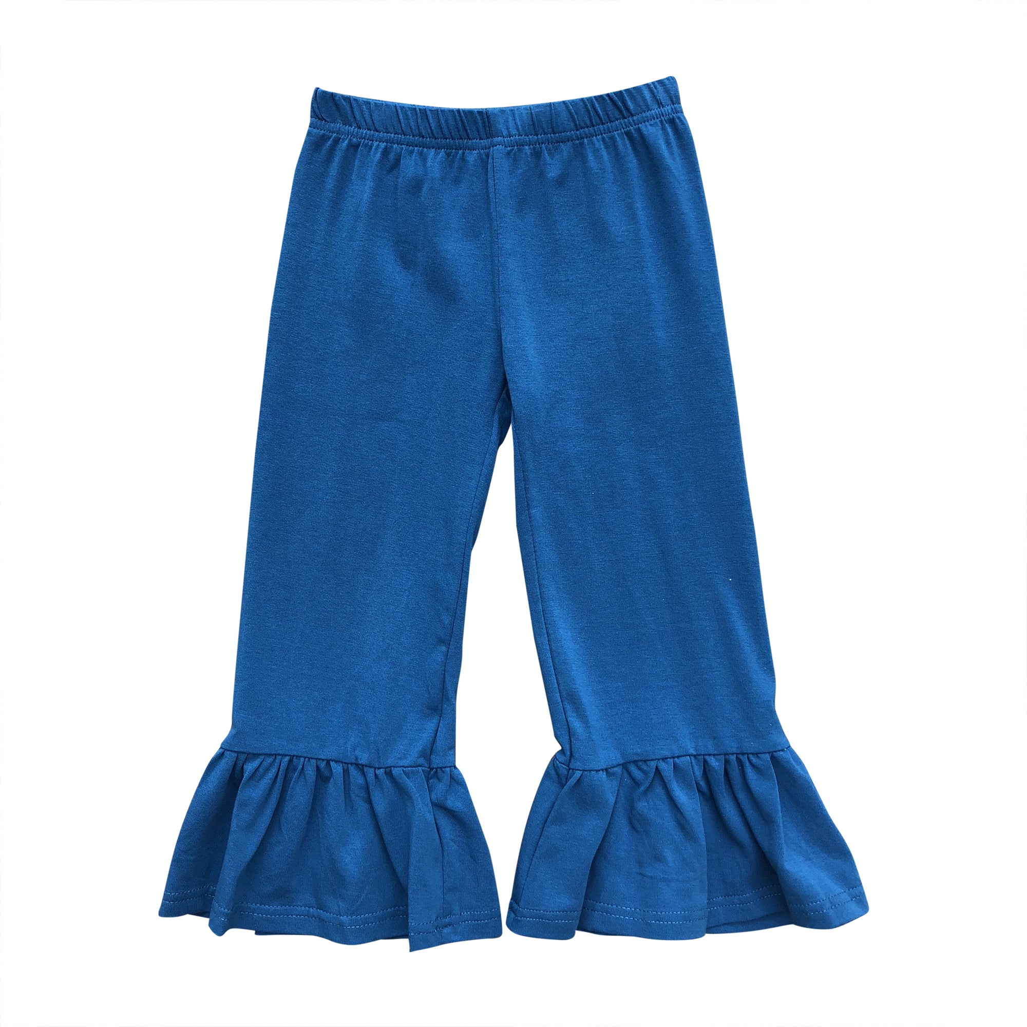 Peacock Big Ruffle Pants