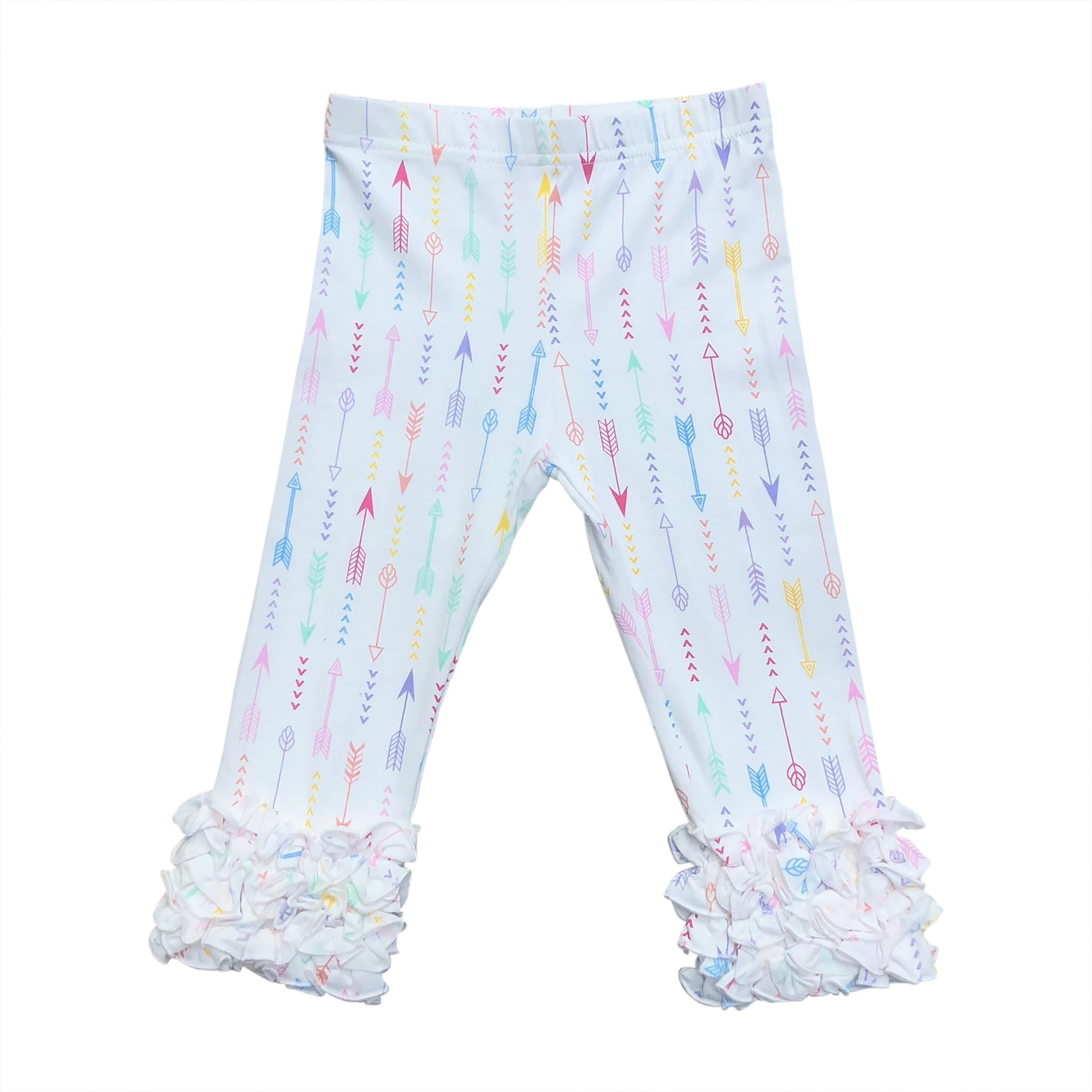 Rainbow Arrow Frosting Capris