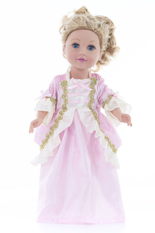 DOLL Dress Pink Parisian**PRE-SALE**