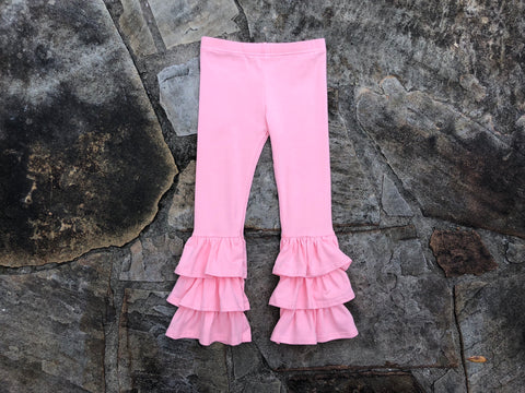 Rosey Pink Benny Pants
