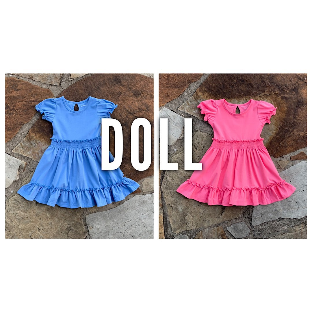 Charlotte Dress DOLL VERSION