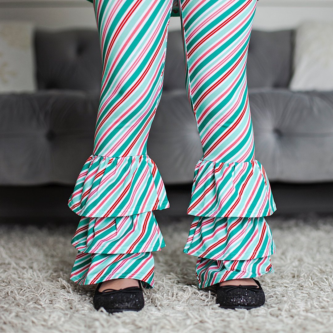 Peppermint Patty Stripe Benny Pants