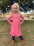 Sunset Pink AnnaLynn Dress