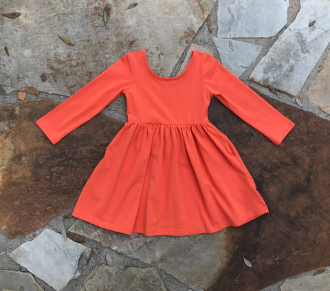Pumpkin Willow Dress