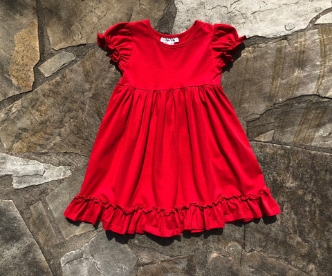 Annalise Dress Red