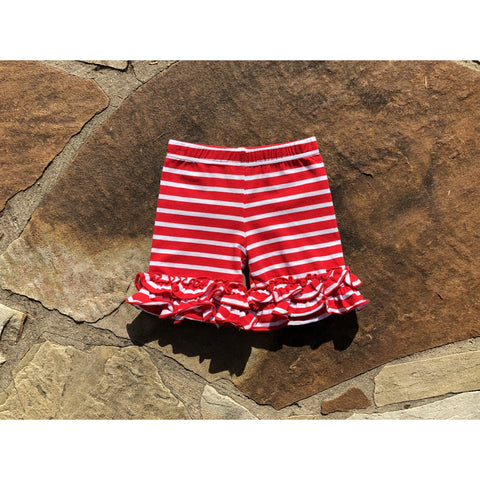 Suzy May Red/White Stripe Shorties