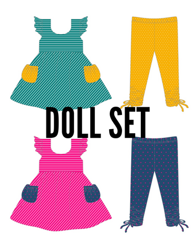 Cora Tunic Set DOLL VERSION