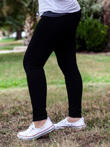 Women's Black Legging Pants