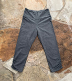Women's Dark Heather Grey Legging Capris *PLEASE READ*