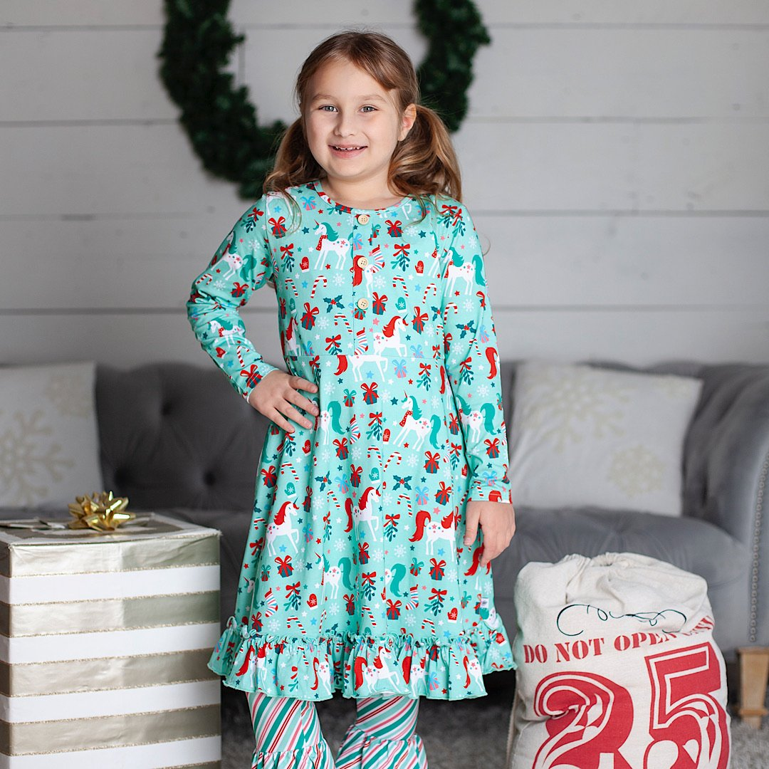 Joyful Unicorn Jane Dress