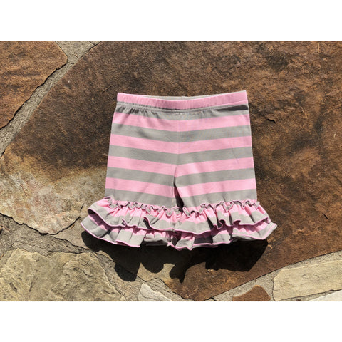 Tank Dress Pink/Gray Shorties