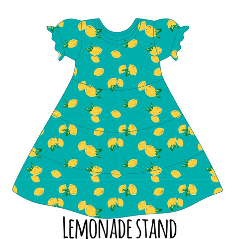 *PRE-SALE* Lemonade Stand Suzy May Dress