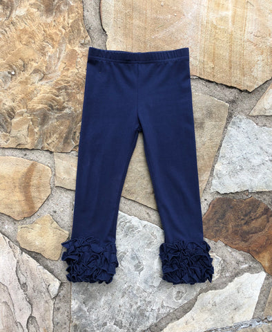 Navy Frosting Pants