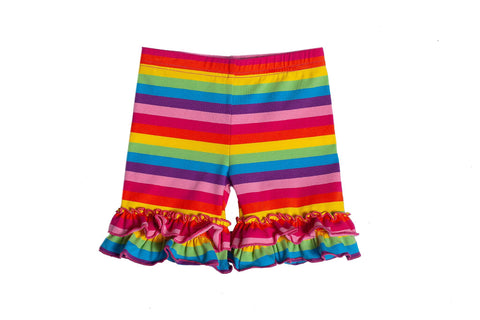 Rainbow Ruffle Shorties