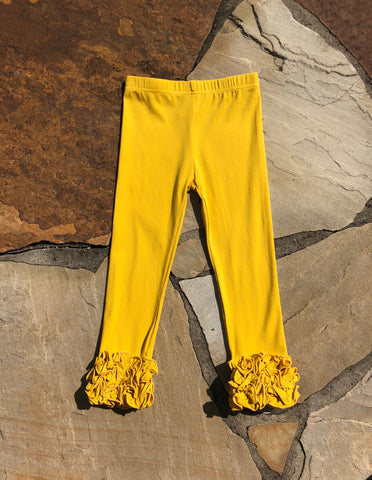 Mustard Frosting Pants