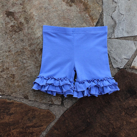 Periwinkle Ruffle Shorties