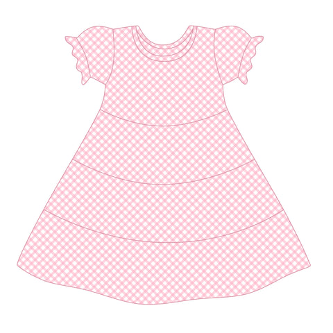 *PRE-SALE* Apple Pie Love Gingham Suzy May Dress