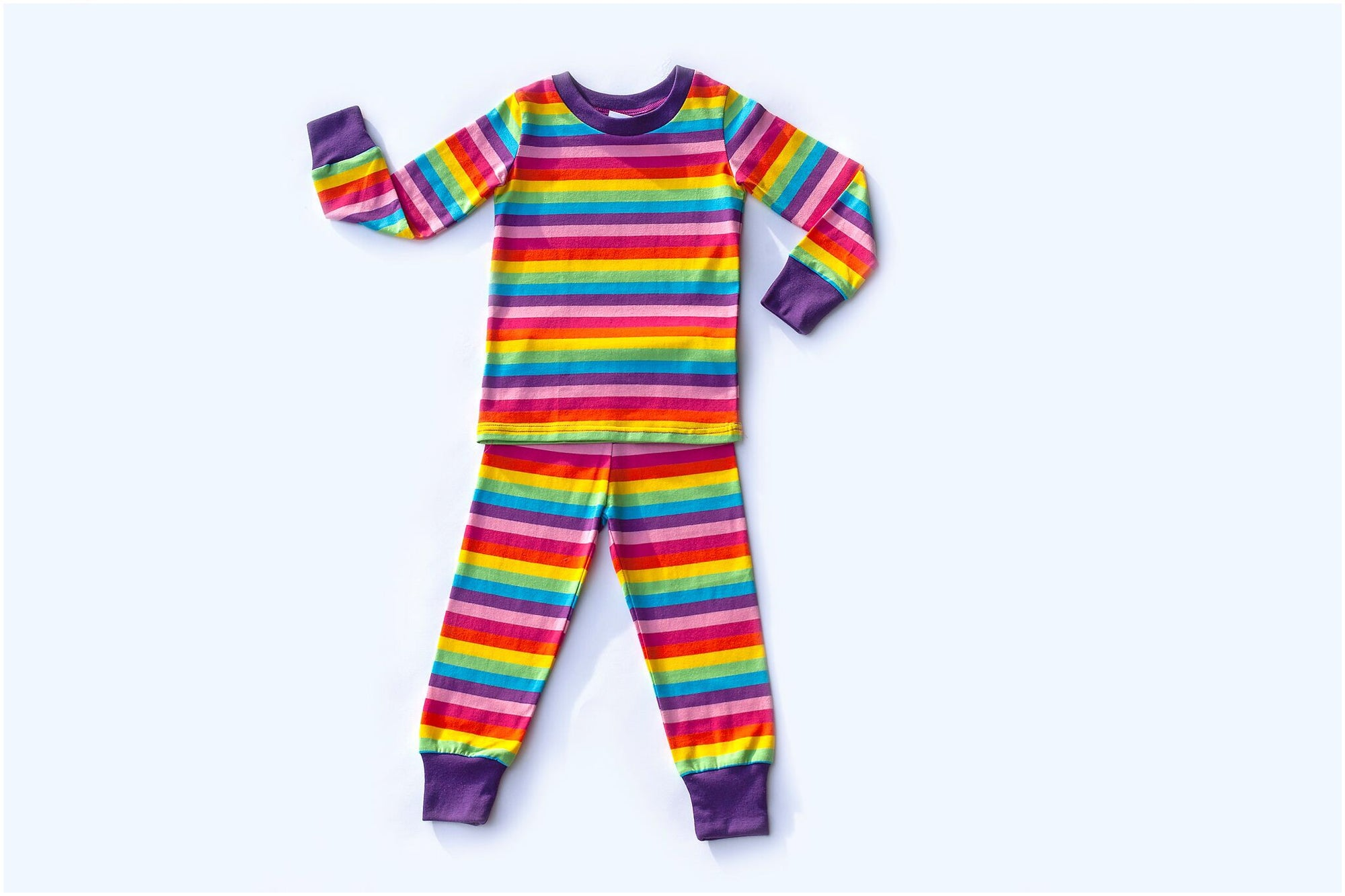 Rainbow Long Sleeve PJ Set
