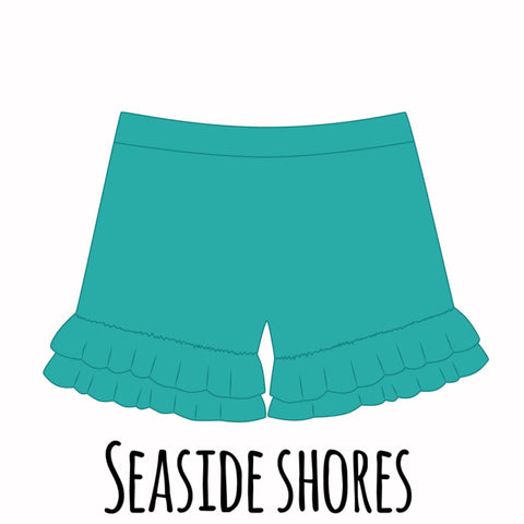 *PRE-SALE* Seaside Shores Ruffle Shorties