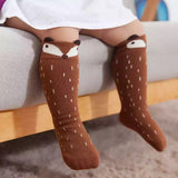 Brown Fox Socks