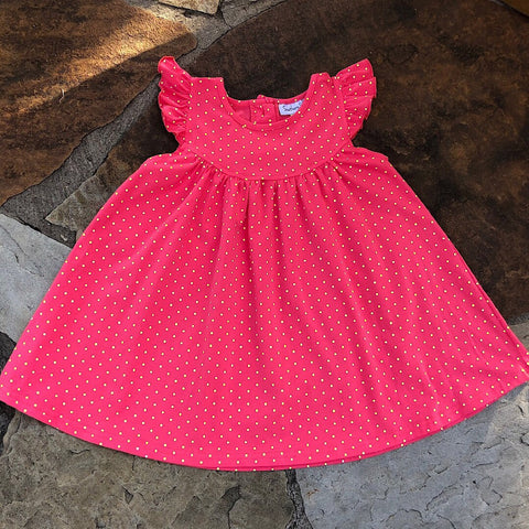 Spring Strawberry with Lemonade Polka Dots Pearl