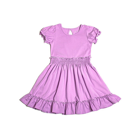Peony Purple Charlotte Dress