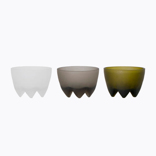 Frosted Footed Bowl - More Options