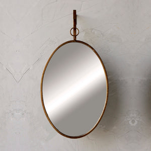 Oval Bracket Mirror