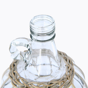 Woven Glass Bottle - Last One!